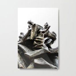 Reaching for Sanity Metal Print