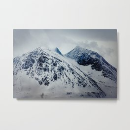 Arctic mountains Metal Print