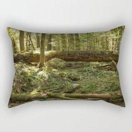 New Life From a Fallen Tree Rectangular Pillow