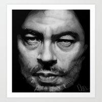 Benicio Art Print