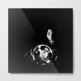 Dr Anonymous Metal Print