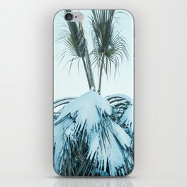 Palm and Snow iPhone Skin