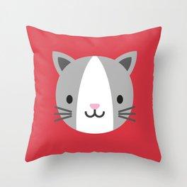 Cody the Cat Throw Pillow