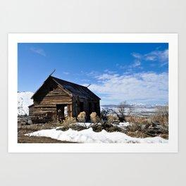 Little Forgotten Cabin Art Print