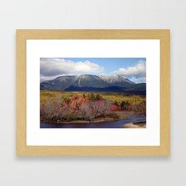 Mt. Katahdin, Me Framed Art Print
