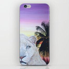 L'amour à deux iPhone Skin
