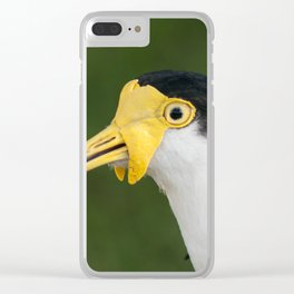 Australian Masked Lapwing Clear iPhone Case