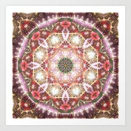 Mandalas from the Heart of Freedom 26 Art Print