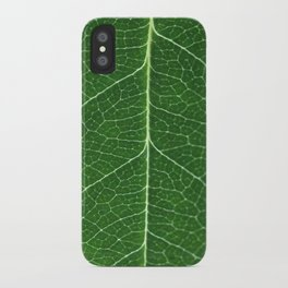 Details of a leaf iPhone Case