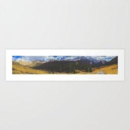 Chicago Basin Panorama Art Print