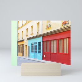 17. Colored Alsace Lorraine, Paris Mini Art Print