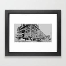 Burleigh House, Ticonderoga 1913 Framed Art Print