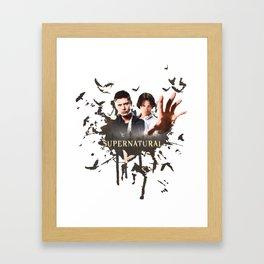 Supernatural (Dean & Sam) Framed Art Print