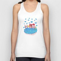 holiday Tank Tops featuring Holiday by ezgi karaata