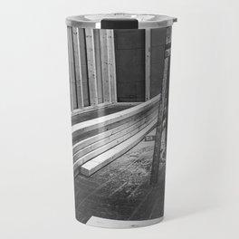Framing Abington, Black and White Travel Mug