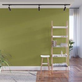 Pantone 16-0543 Golden Lime Wall Mural