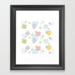 Little Farm 2 Framed Art Print