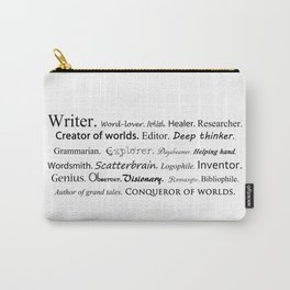 Writer Carry-All Pouch