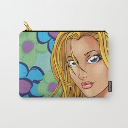 Flower Girl Green Carry-All Pouch