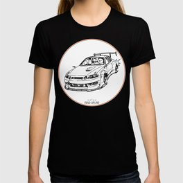 Crazy Car Art 0039 T-shirt