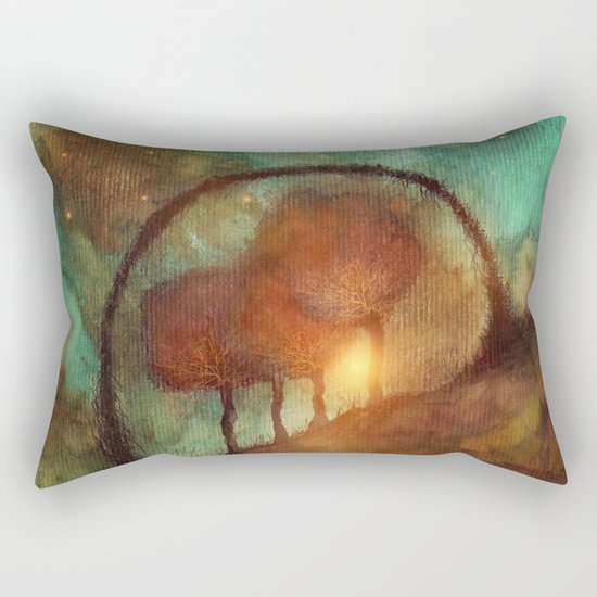 Track 28: Sunset and Dreams II Rectangular Pillow