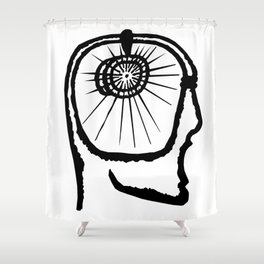 The New Flesh 1 Shower Curtain