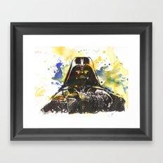 Darth Vader Star Wars Art Framed Art Print
