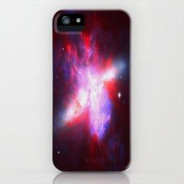 Cosmic Implosion iPhone Case