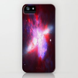 Cosmic Implosion iPhone Case