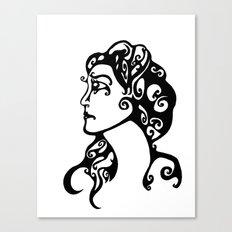 Gypsy Sorrow Canvas Print