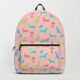 Polka Dot Dogs Backpack