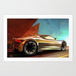 Concept Side View Art Print