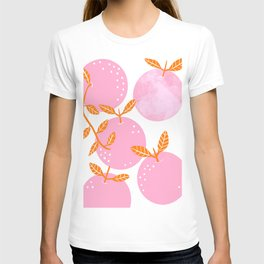 Pink oranges T-shirt