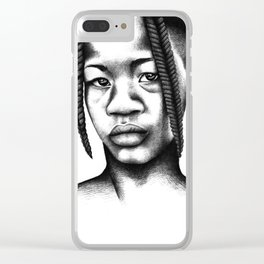 Little boy from Angola Clear iPhone Case
