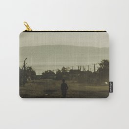 Walking Down the Street in Khuzhir Carry-All Pouch