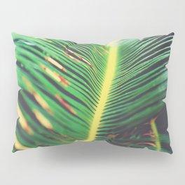 Palm Leaf Parallax Pillow Sham