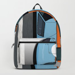 Rodriguez-Bianchi GT40 Gulf Le Mans 1968 Backpack