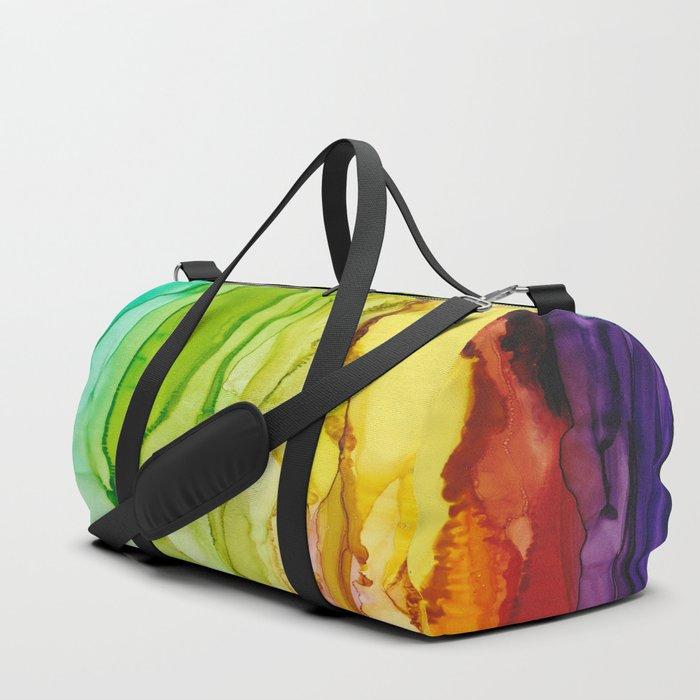 Euphoria Rainbow Art Print Duffle Bag