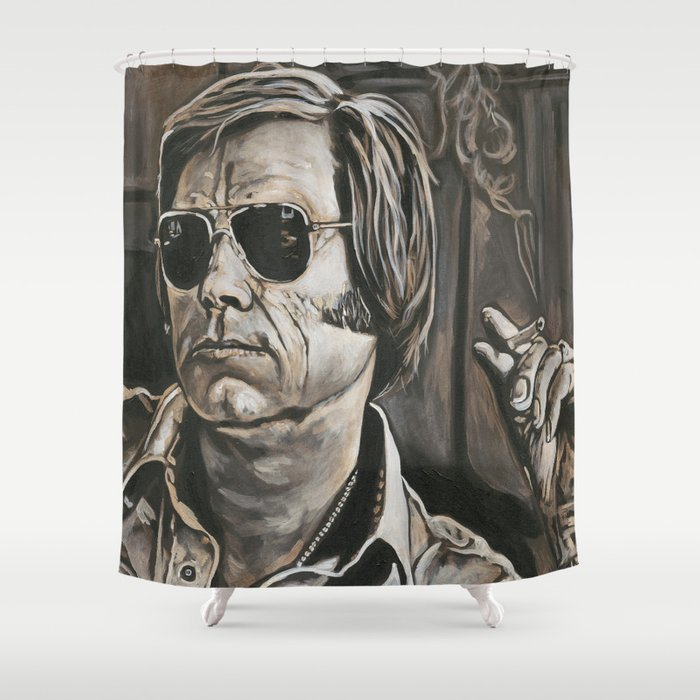 George Jones Shower Curtain