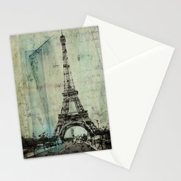 With Love From Paris Stationery Cards