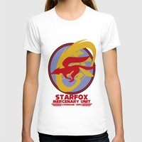 starfox T-shirts featuring Mercenary Unit - Starfox by TomStreetArt