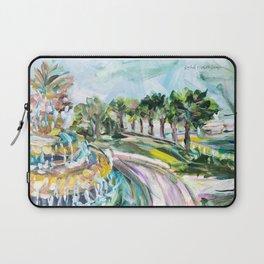 Charleston Pineapple Fountain Laptop Sleeve
