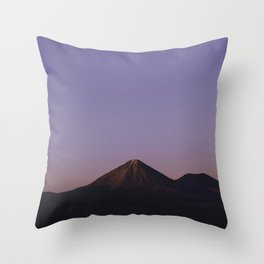 Valle de la Luna Throw Pillow