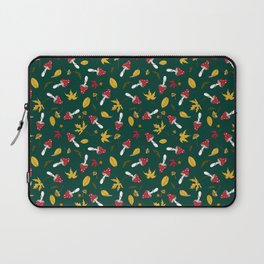 fly agaric and autumn leaves Laptop Sleeve