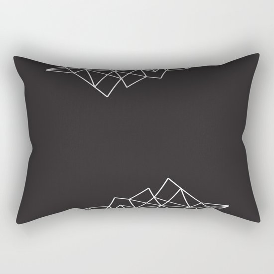 Geometric Pattern VII Rectangular Pillow