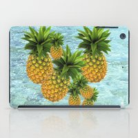 pineapples iPad Cases featuring Pineapples by Erika Kaisersot