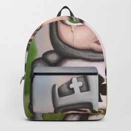 Crying Knight Backpack