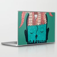 sleep Laptop & iPad Skins featuring Sleep by Arron Croasdell