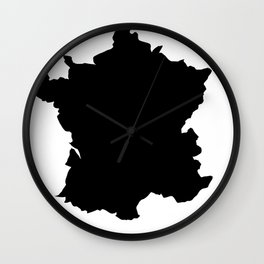 France map Wall Clock