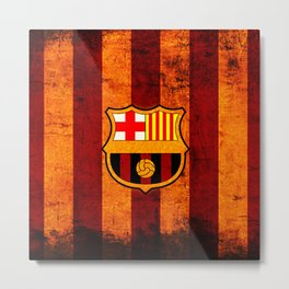 football team catalunya Metal Print